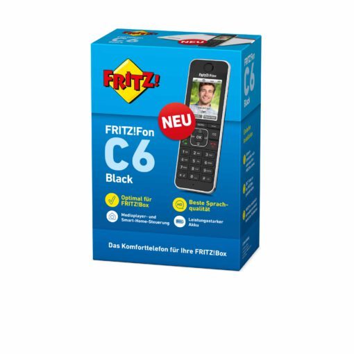 AVM 20002964 FRITZFON C6 BLACK DE 3