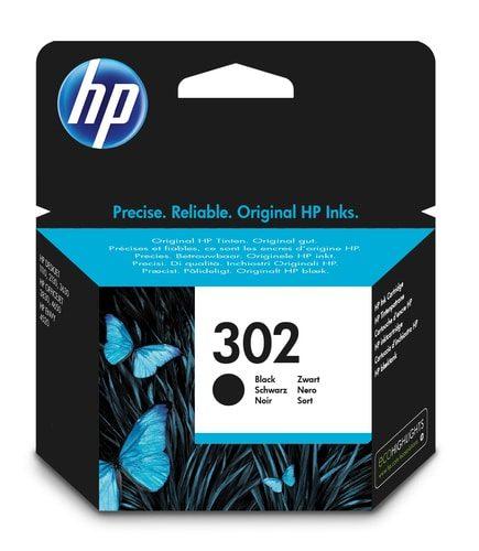 HP Tinte schwarz Nr. 302 F6U66AE