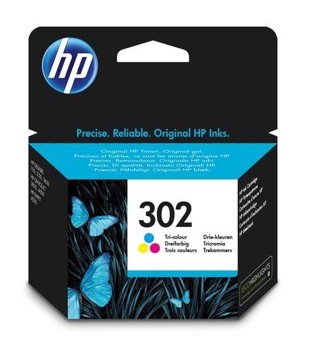 HP Tinte dreifarbig Nr. 302 (F6U65AE)