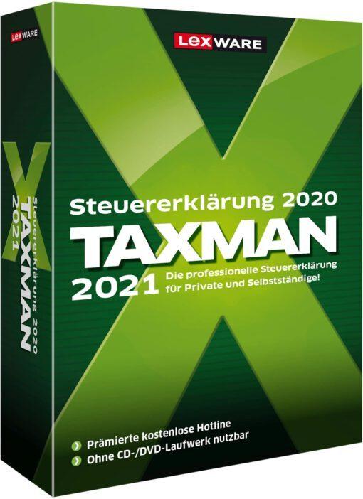 Lexware Taxman 2021 [auf Datenträger]