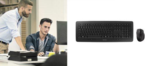 CHERRY JD 0520GB 2 DE 2 CHERRY DW 5100 Tastatur, Maus