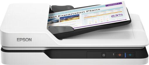 Epson WorkForce DS-1630, Flachbettscanner