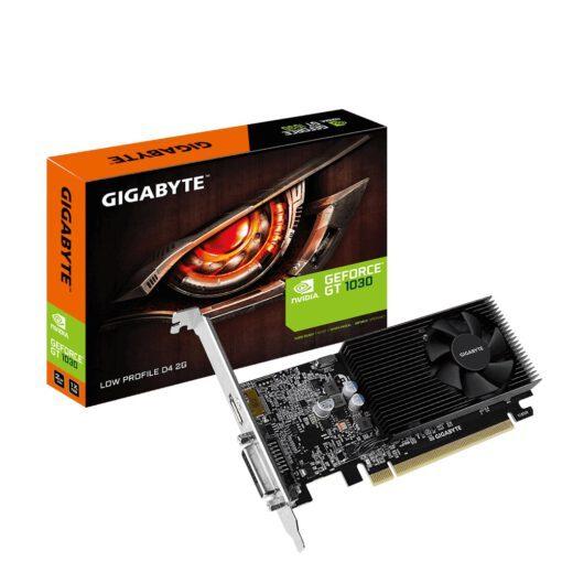 GIGABYTE GT 1030 Low Profile D4 2G , Grafikkarte