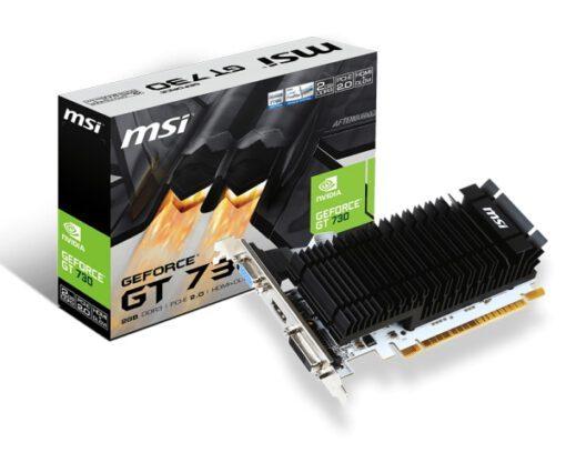 MSIGeForce N730K-2GD3H/LP, Grafikkarte
