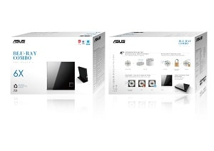 ASUS 90 DT00205 UA219KZ INT 5 DVD Combo Optisches Laufwerk - ASUS SBC-06D2X-U