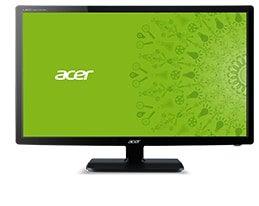 Acer UM FV6EE 005 INT 1 Acer V246HLbmd, LED-Monitor (schwarz, DVI-D (HDCP), Sound)