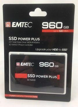 """SSD Festplatte Emtec X150 Power Plus 2.5"""" 960 GB"""