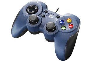 Logitech 940 000135 INT 2 Logitech F310 Gamepad PC Schwarz Blau