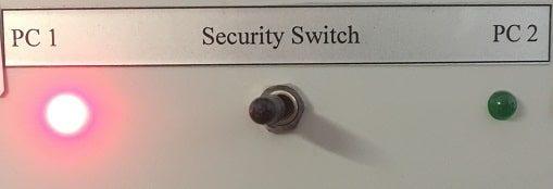 PC switch Festplattenumschalter Security Switch