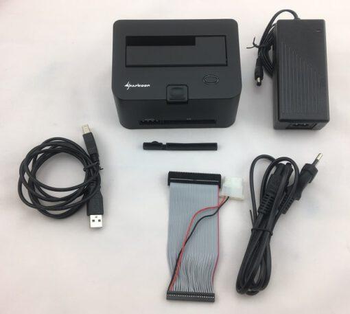 Sharkoon QuickPort Combo USB 3 Dockingstation