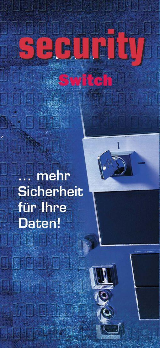 Festplattenumschalter Security Switch