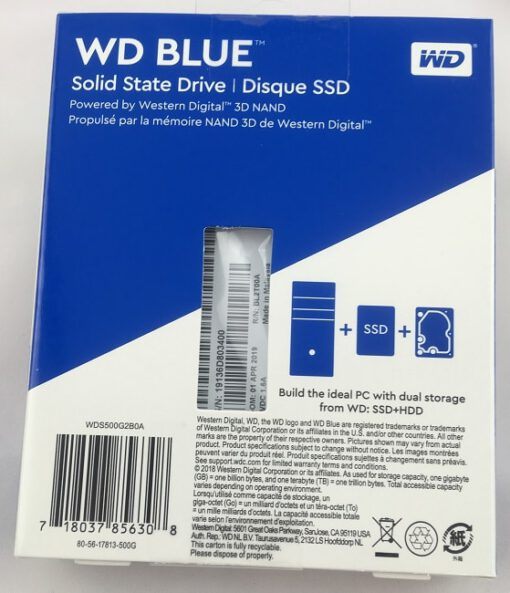 WD blue2 Western Digital Blue 3D Solid State Drive